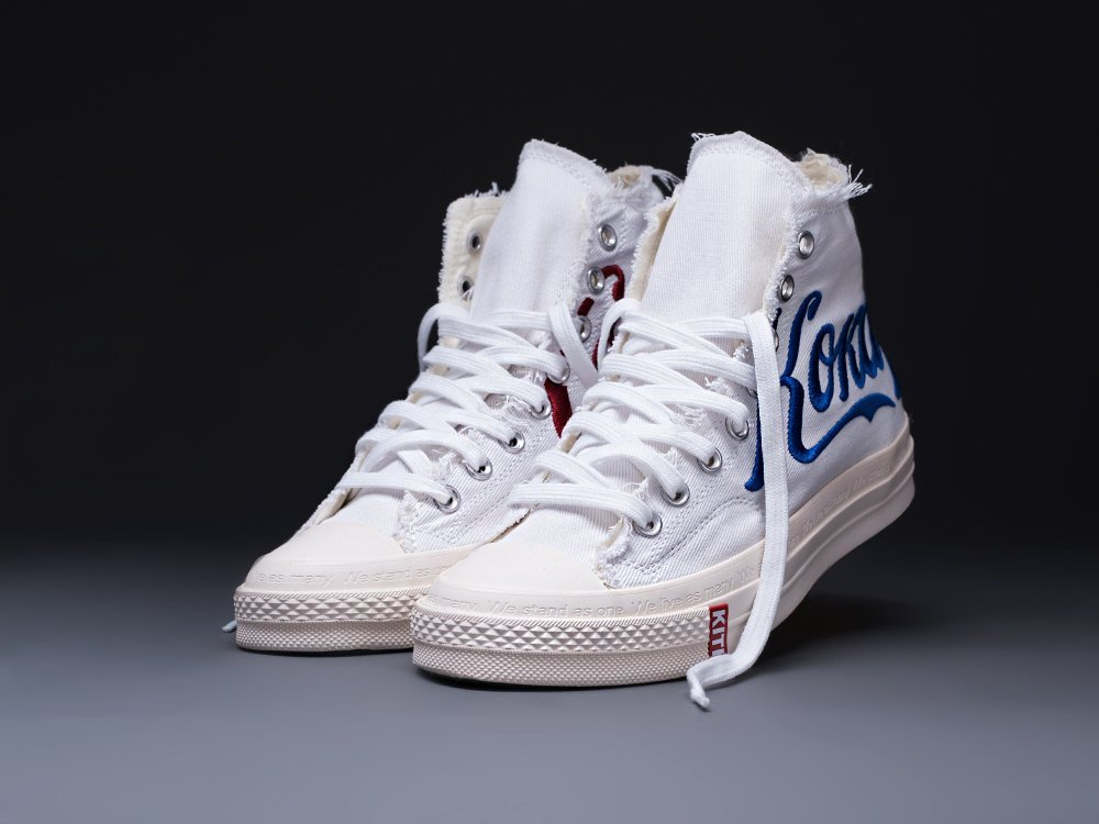 Кеды KITH x Coke x Converse Chuck Taylor Collection